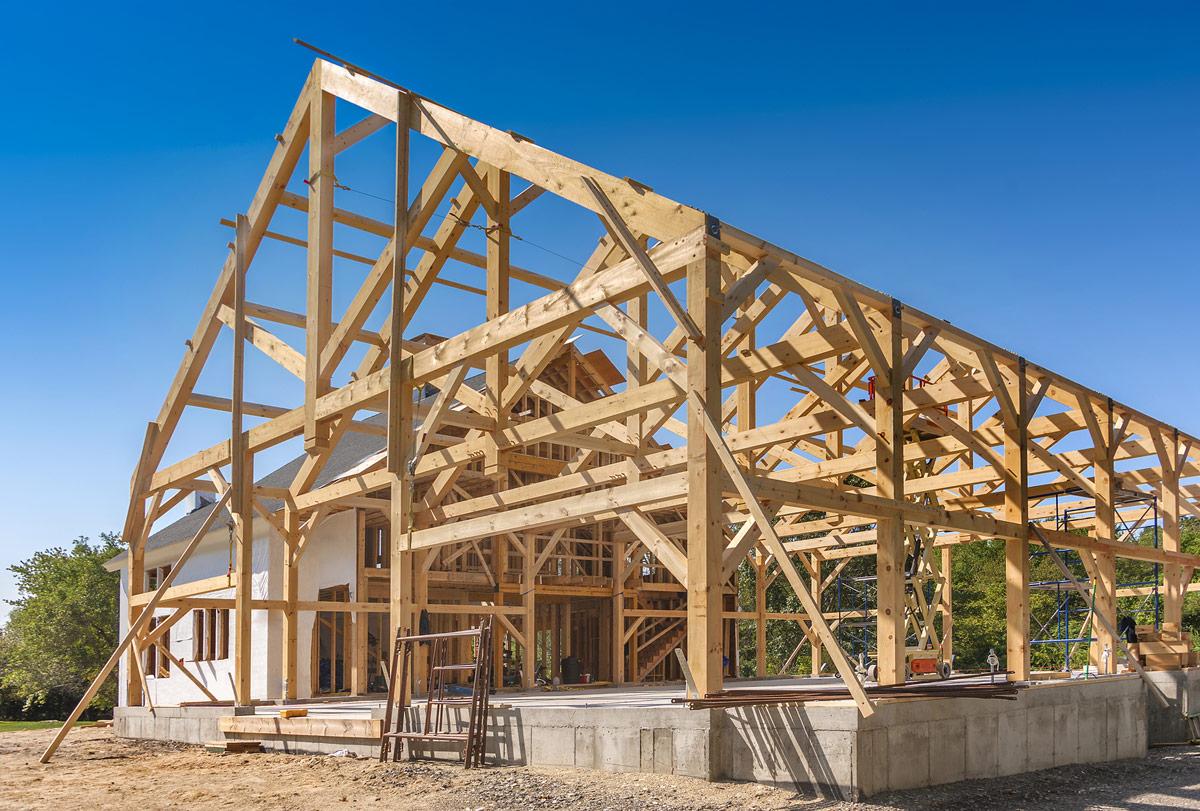 Kanadyjskie szkieletowe domy drewniane historia for Cost of building a house in oklahoma